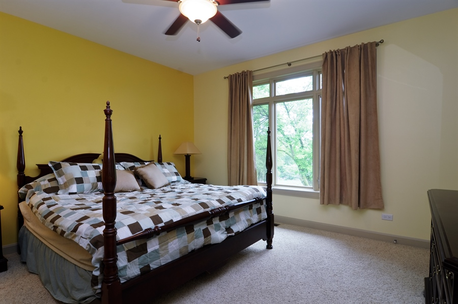 Real Estate Photography - 205 Honey Lake Court, North Barrington, IL, 60010 - Main Level Second Bedroom