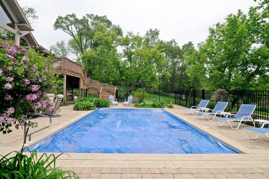 Real Estate Photography - 205 Honey Lake Court, North Barrington, IL, 60010 - Pool