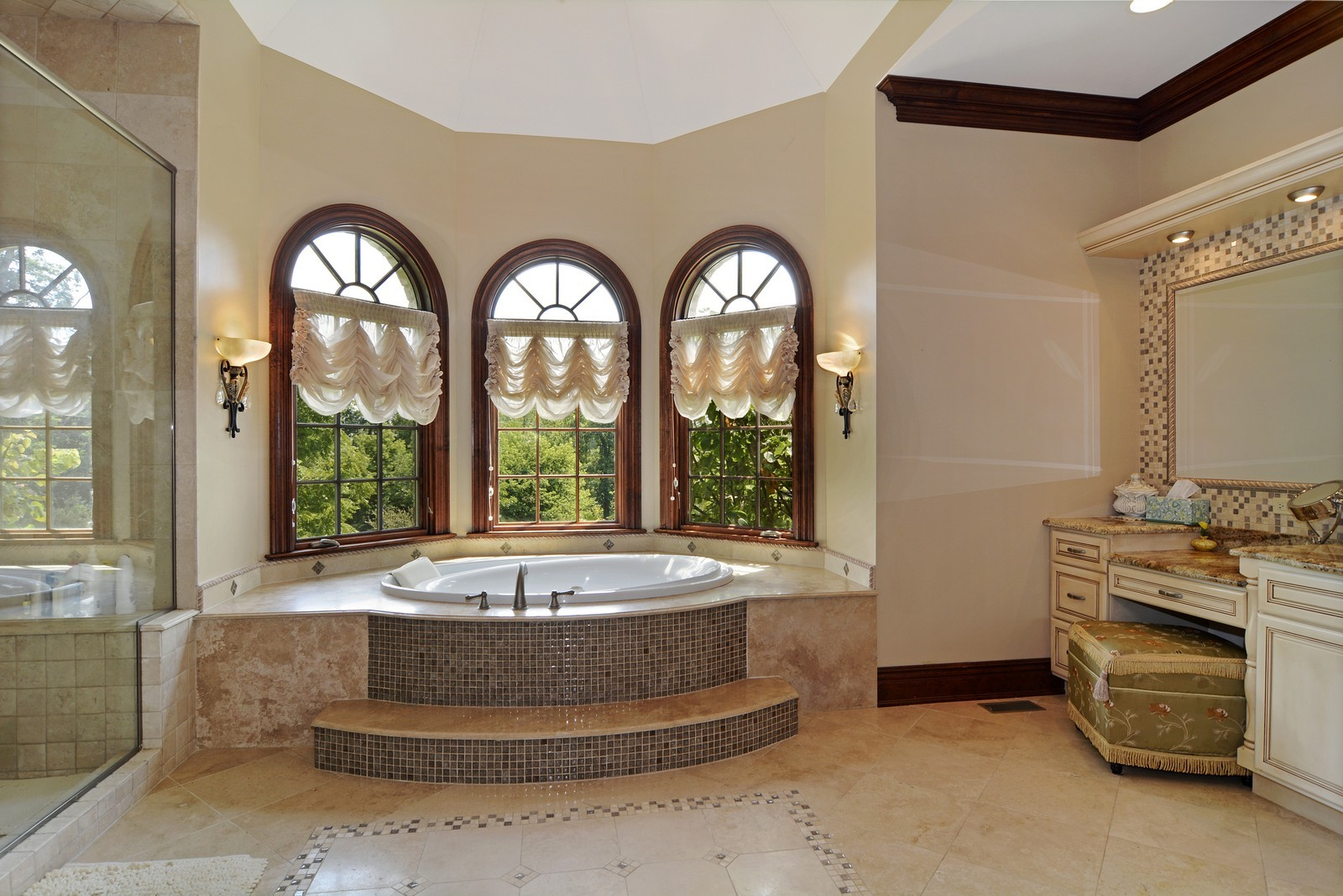 Real Estate Photography - 506 Wexford Ct, St Charles, IL, 60175 - Master Bathroom