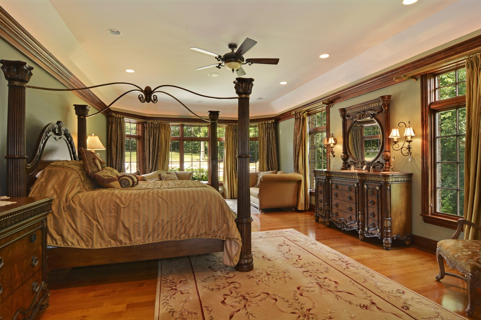 Real Estate Photography - 506 Wexford Ct, St Charles, IL, 60175 - Master Bedroom
