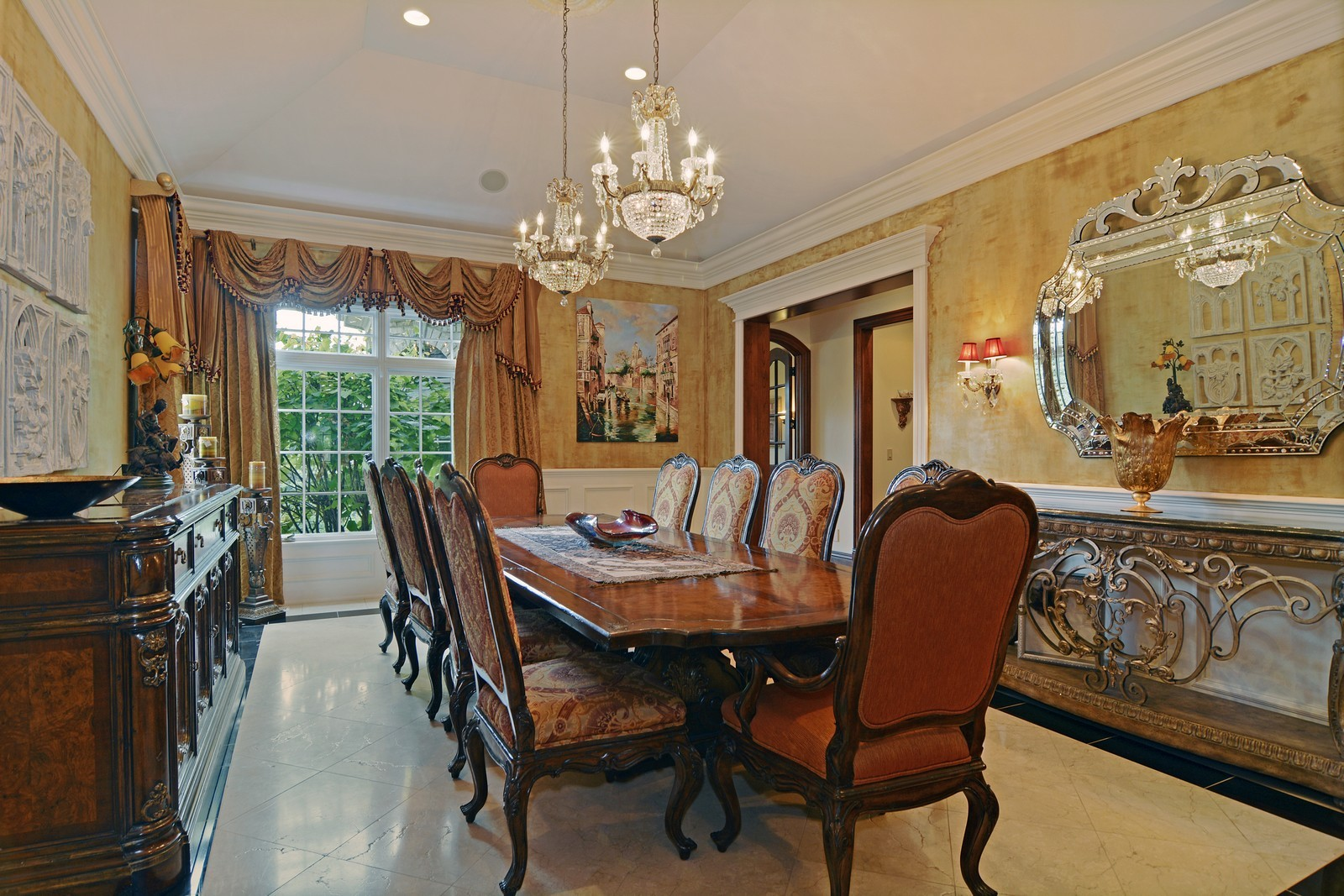 Real Estate Photography - 506 Wexford Ct, St Charles, IL, 60175 - Dining Room