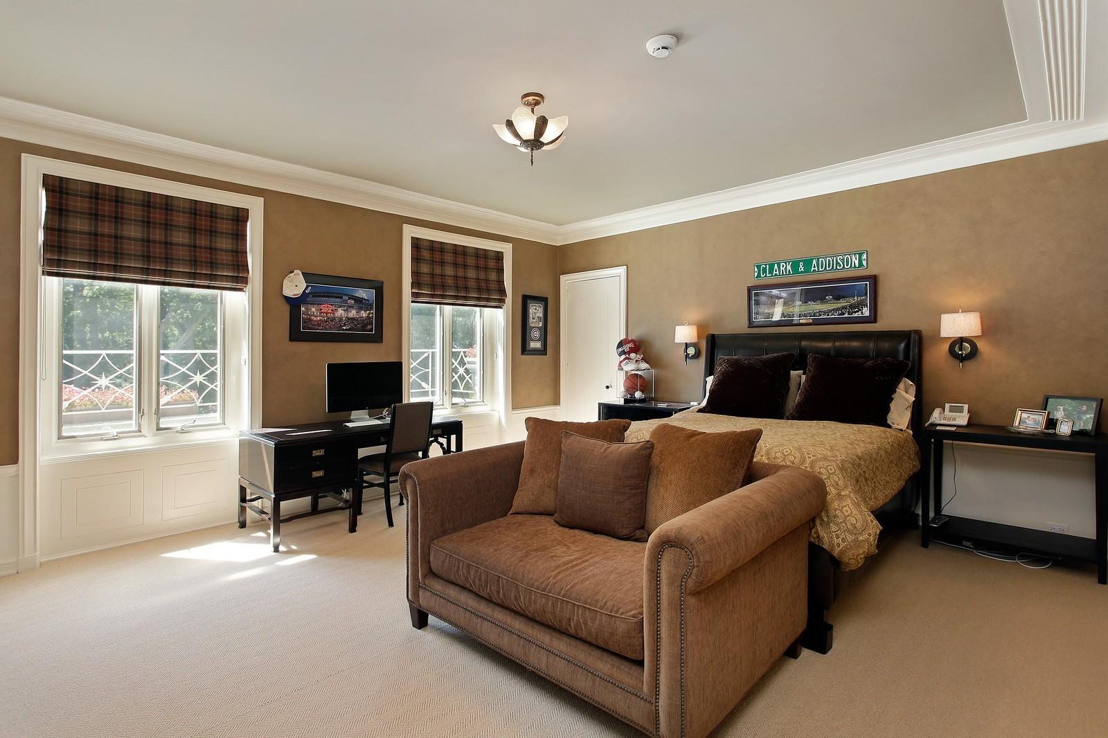 Real Estate Photography - 443 Sheridan Rd, Glencoe, IL, 60022 - 3rd Bedroom
