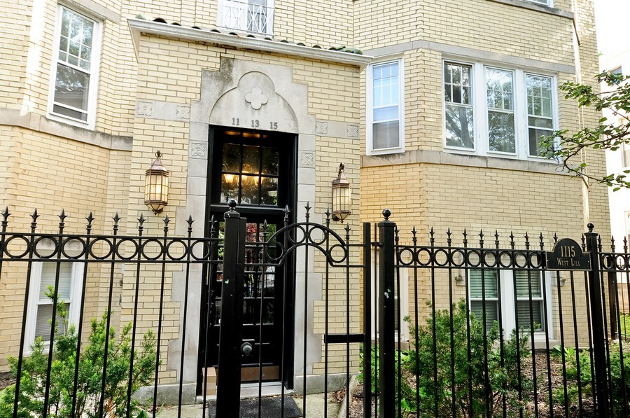 Real Estate Photography - 1115 W Lill, 3W, Chicago, IL, 60614 - Front View