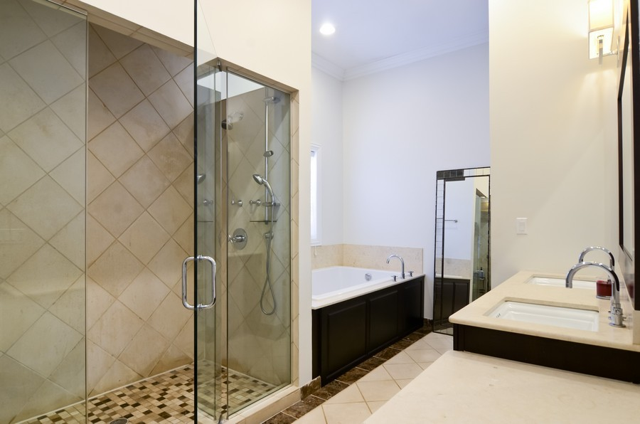 Real Estate Photography - 1627 N. Bell, Chicago, IL, 60647 - Master Bathroom