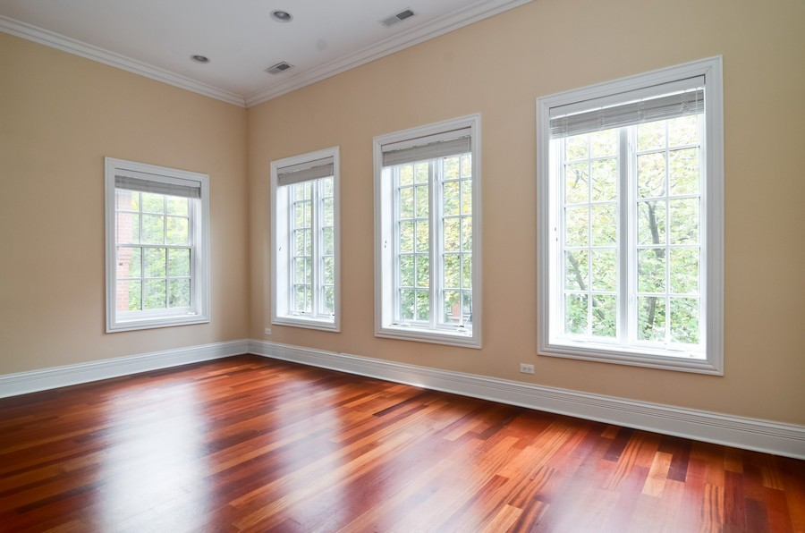 Real Estate Photography - 1627 N. Bell, Chicago, IL, 60647 - 2nd Bedroom