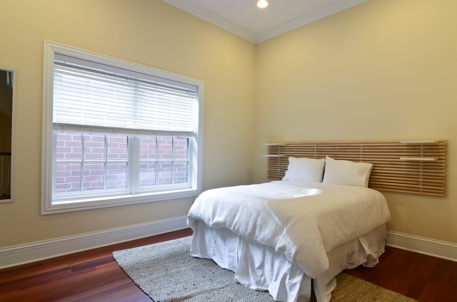 Real Estate Photography - 1627 N. Bell, Chicago, IL, 60647 - 3rd Bedroom