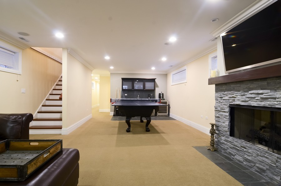 Real Estate Photography - 1627 N. Bell, Chicago, IL, 60647 - Lower Level
