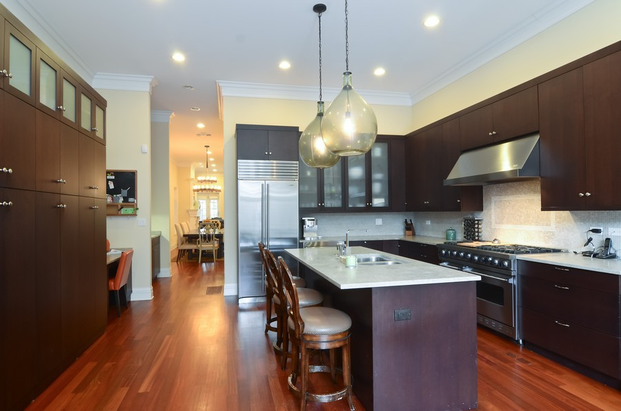 Real Estate Photography - 1627 N. Bell, Chicago, IL, 60647 - Kitchen
