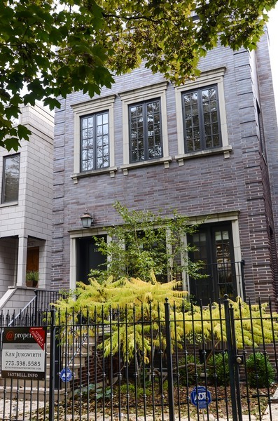 Real Estate Photography - 1627 N. Bell, Chicago, IL, 60647 - Front View