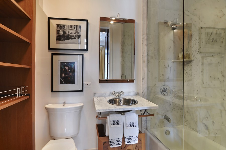 Real Estate Photography - 59 W Schiller, Chicago, IL, 60610 - 3rd Bathroom