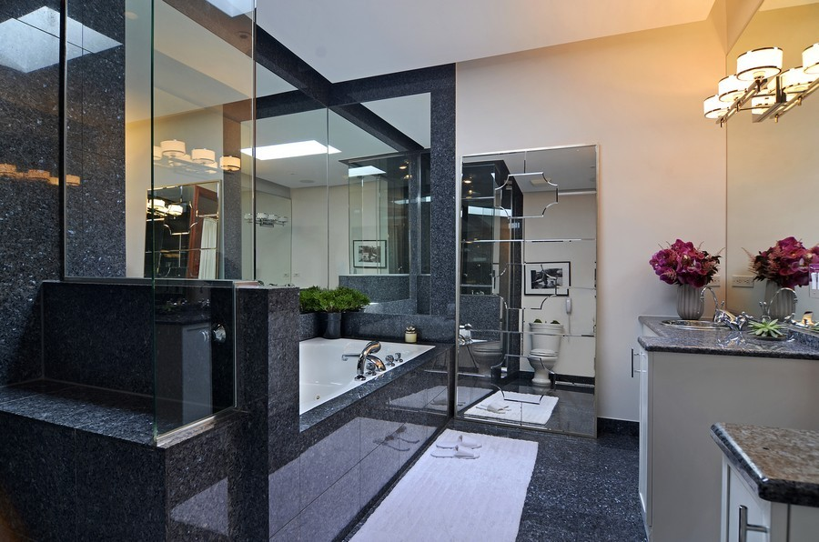 Real Estate Photography - 59 W Schiller, Chicago, IL, 60610 - Master Bathroom