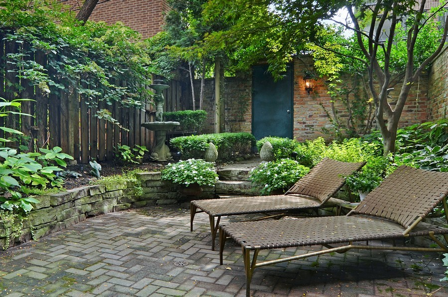 Real Estate Photography - 59 W Schiller, Chicago, IL, 60610 - Patio