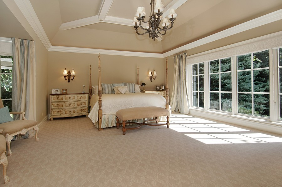 Real Estate Photography - 405 Blackberry, Bull Valley, IL, 60098 - Master Bedroom