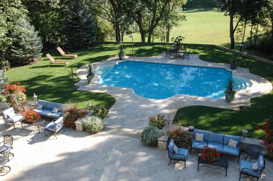 Real Estate Photography - 405 Blackberry, Bull Valley, IL, 60098 - Back Yard