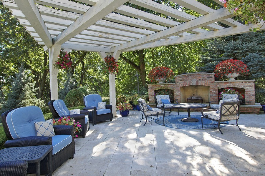 Real Estate Photography - 405 Blackberry, Bull Valley, IL, 60098 - Patio