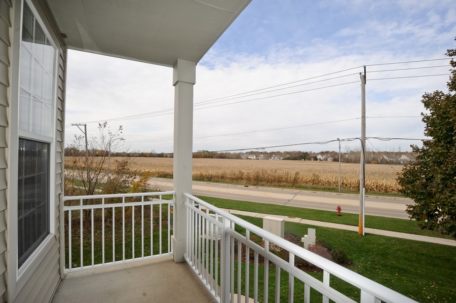 Real Estate Photography - 515 Pheasant Trl, Saint Charles, IL, 60174 - Balcony