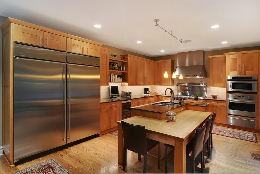 Real Estate Photography - 715 W Hutchinson, Chicago, IL, 60613 - Kitchen