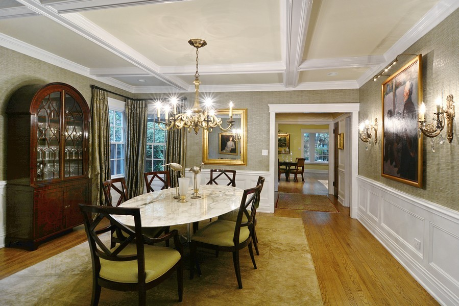 Real Estate Photography - 715 W Hutchinson, Chicago, IL, 60613 - Dining Room