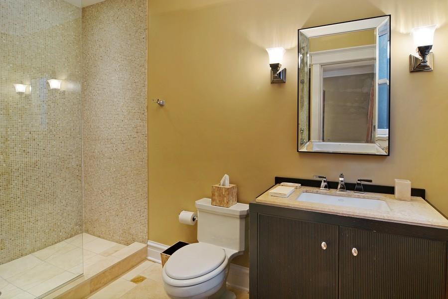 Real Estate Photography - 715 W Hutchinson, Chicago, IL, 60613 - Bathroom
