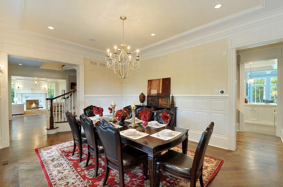Real Estate Photography - 561 Circle Ln, Lake Forest, IL, 60045 - Dining Room