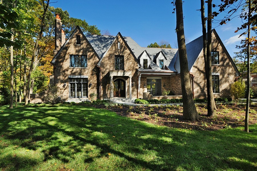 Real Estate Photography - 561 Circle Ln, Lake Forest, IL, 60045 - Front View