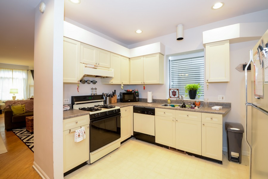 Real Estate Photography - 1038 W Montana, Chicago, IL, 60614 - Kitchen