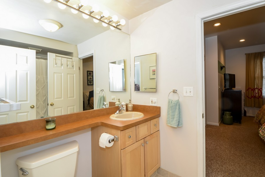 Real Estate Photography - 1038 W Montana, Chicago, IL, 60614 - Bathroom