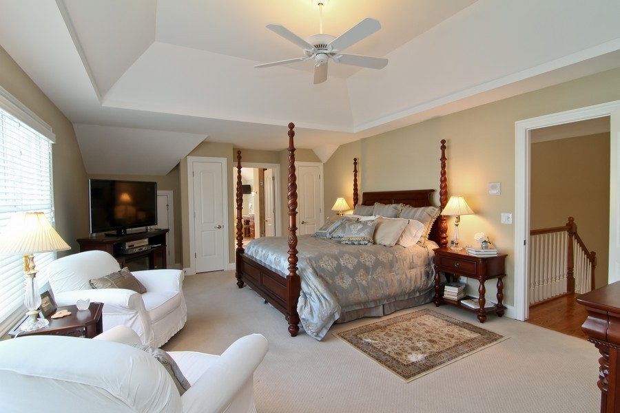 Real Estate Photography - 4636 Washington St, Downers Grove, IL, 60515 - Master Bedroom