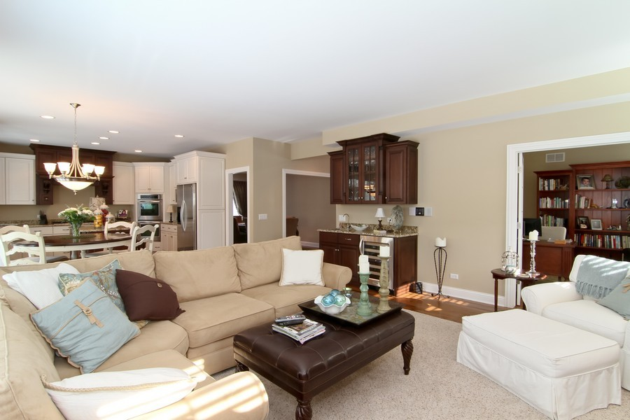 Real Estate Photography - 4636 Washington St, Downers Grove, IL, 60515 - Family Room