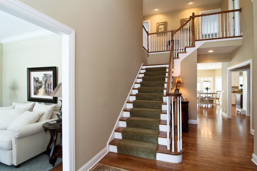 Real Estate Photography - 4636 Washington St, Downers Grove, IL, 60515 - Foyer