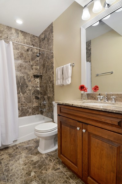 Real Estate Photography - 3319 N. Hamilton, Chicago, IL, 60618 - 3rd Bathroom