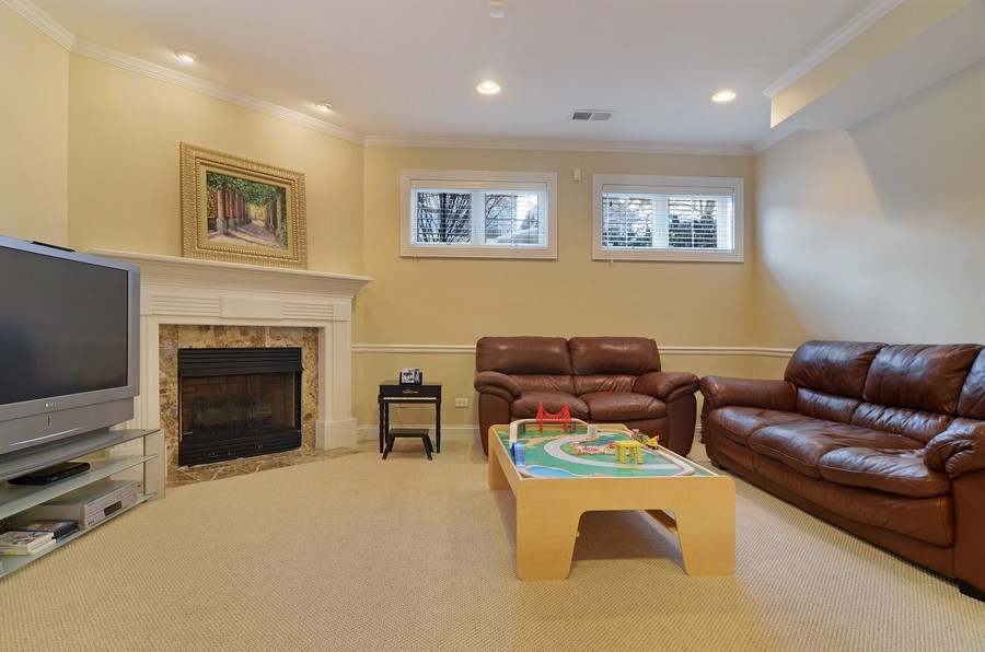 Real Estate Photography - 3319 N. Hamilton, Chicago, IL, 60618 - Lower Level