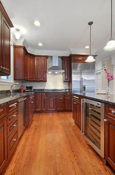 Real Estate Photography - 3319 N. Hamilton, Chicago, IL, 60618 - Kitchen