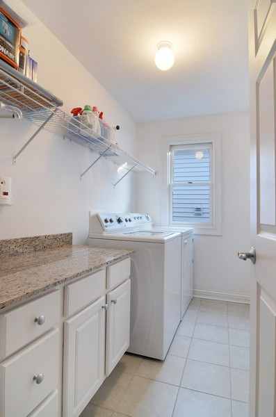 Real Estate Photography - 3319 N. Hamilton, Chicago, IL, 60618 - Laundry Room