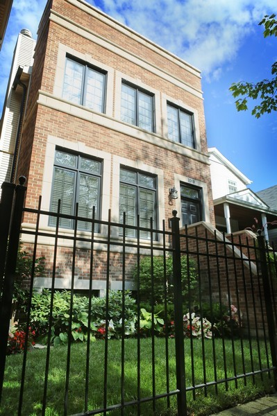 Real Estate Photography - 3319 N. Hamilton, Chicago, IL, 60618 - Front View