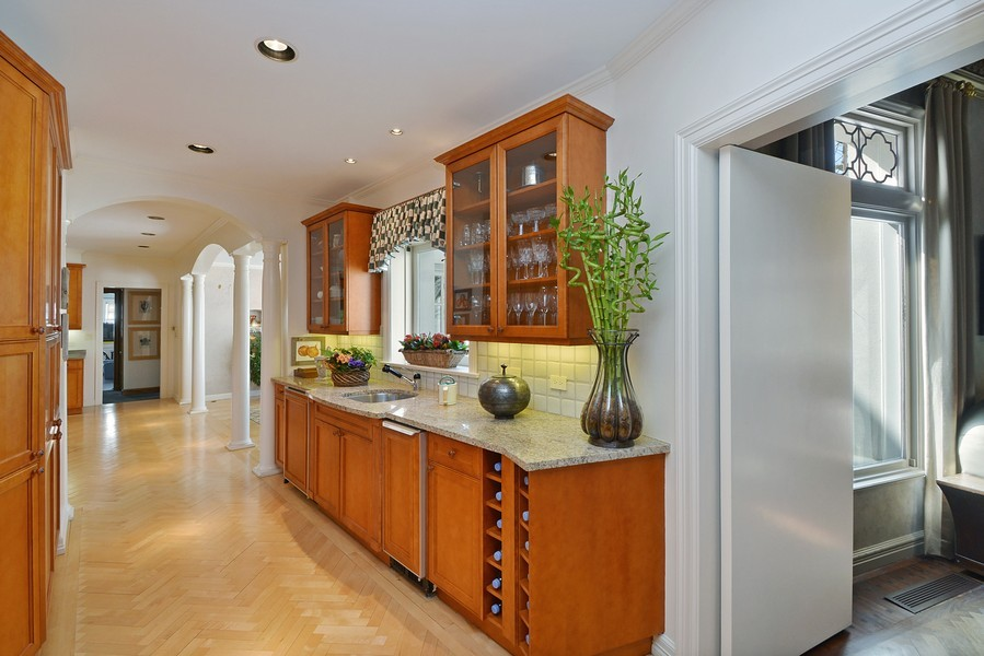 Real Estate Photography - 80 Locust Rd, Winnetka, IL, 60093 - Pantry