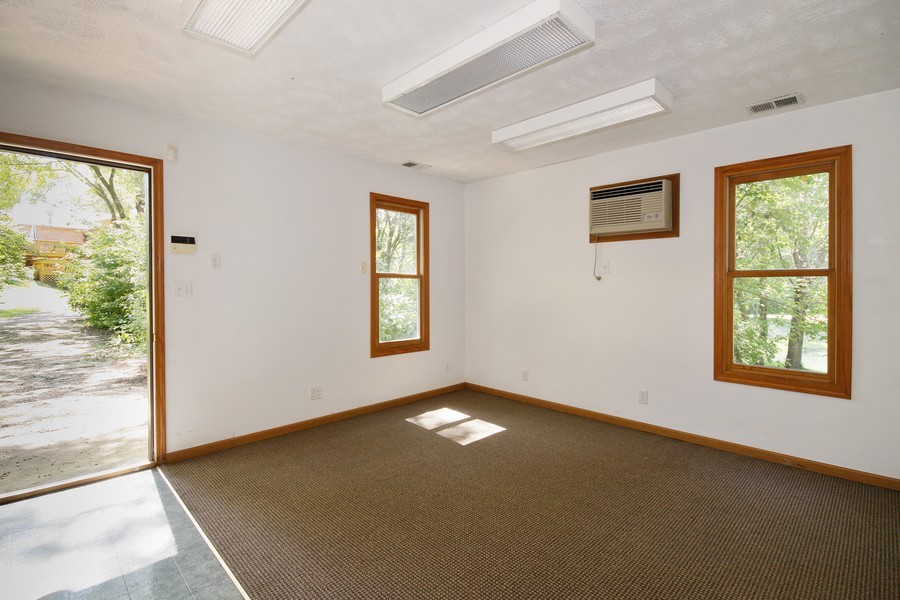 Real Estate Photography - 3830 N. Dwight Rd, Morris, IL, 60450 - Office in Outbuilding