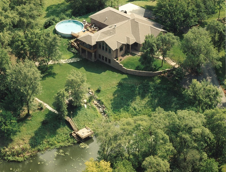 Real Estate Photography - 3830 N. Dwight Rd, Morris, IL, 60450 - Aerial Photo