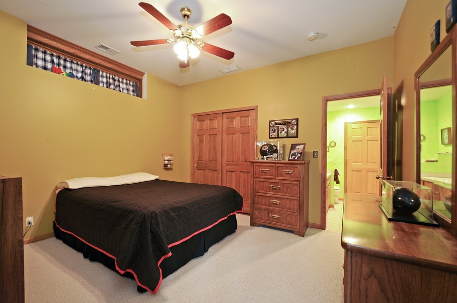 Real Estate Photography - 3830 N. Dwight Rd, Morris, IL, 60450 - 3rd Bedroom (lower level)