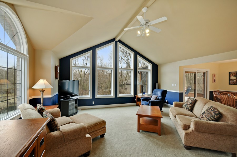 Real Estate Photography - 3830 N. Dwight Rd, Morris, IL, 60450 - Living Room