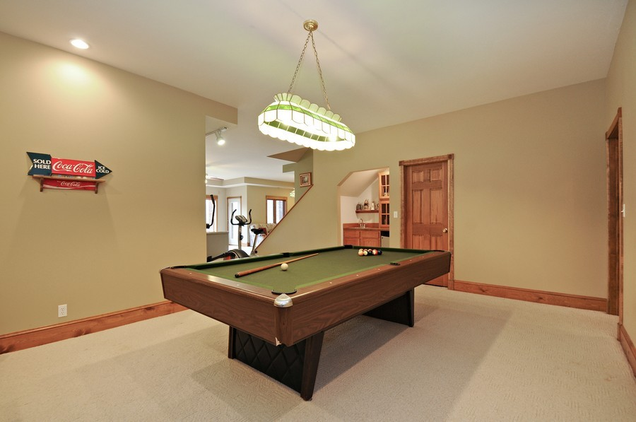 Real Estate Photography - 3830 N. Dwight Rd, Morris, IL, 60450 - Rec Room- View 3 (lower level)