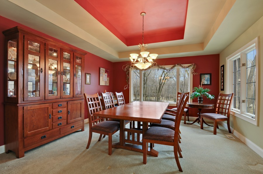 Real Estate Photography - 3830 N. Dwight Rd, Morris, IL, 60450 - Dining Room
