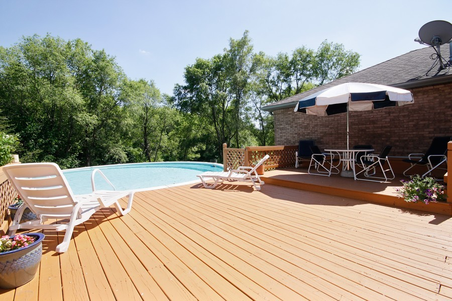 Real Estate Photography - 3830 N. Dwight Rd, Morris, IL, 60450 - Pool