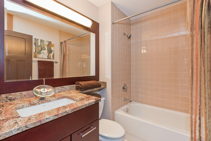 Real Estate Photography - 616 W Fulton, Unit 418, Chicago, IL, 60661 - Master Bathroom