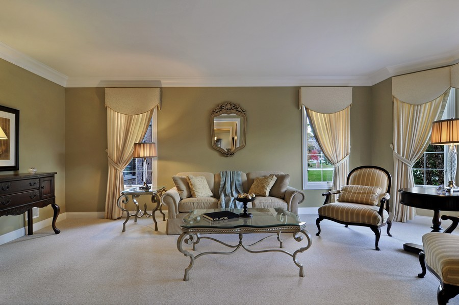 Real Estate Photography - 20843 W High Ridge Drive, Kildeer, IL, 60047 - Living Room
