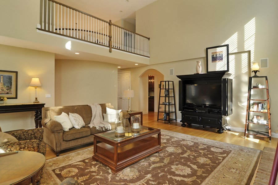 Real Estate Photography - 20843 W High Ridge Drive, Kildeer, IL, 60047 - Family Room