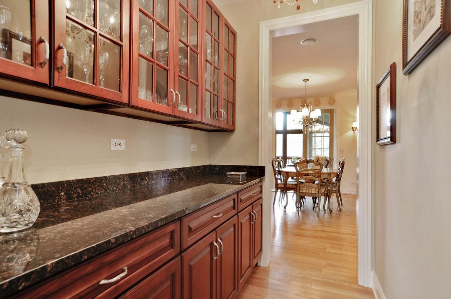 Real Estate Photography - 20843 W High Ridge Drive, Kildeer, IL, 60047 - Butlers Pantry