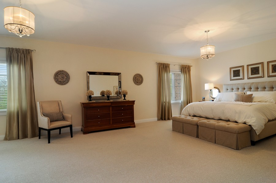 Real Estate Photography - 20843 W High Ridge Drive, Kildeer, IL, 60047 - Master Bedroom