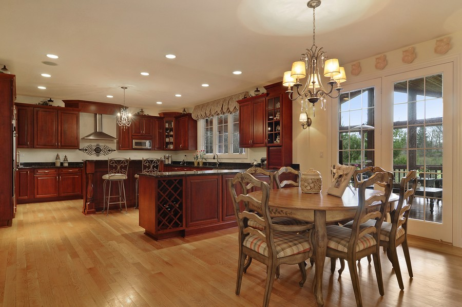 Real Estate Photography - 20843 W High Ridge Drive, Kildeer, IL, 60047 - Kitchen / Breakfast Room