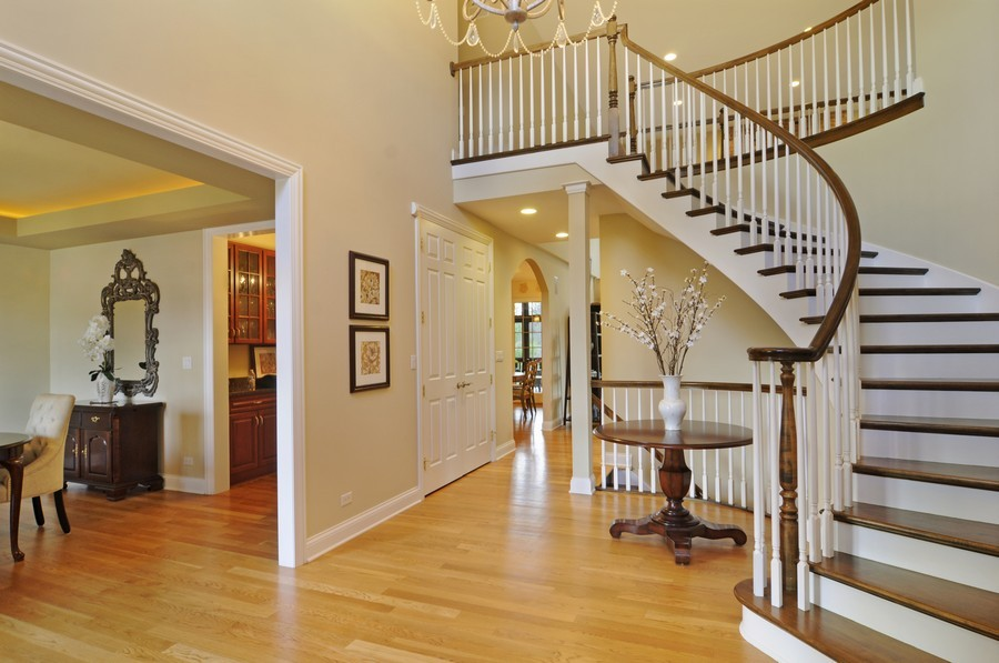 Real Estate Photography - 20843 W High Ridge Drive, Kildeer, IL, 60047 - Foyer
